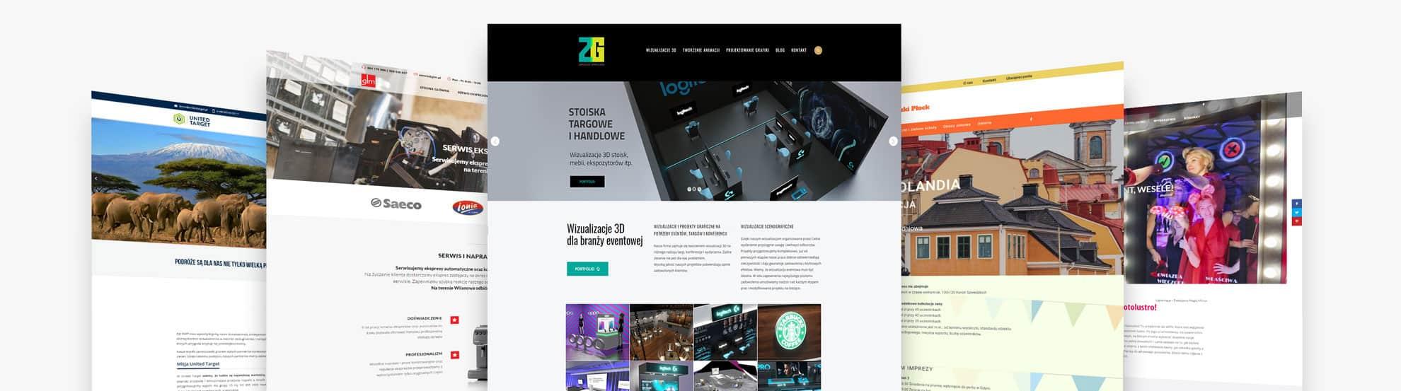 Strony internetowe - projekt, wdrożenie, aktualizacje