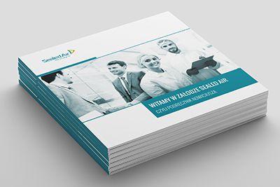 folder firmowy projekt - grafik